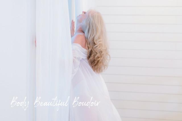 Dreamy woman in the window
